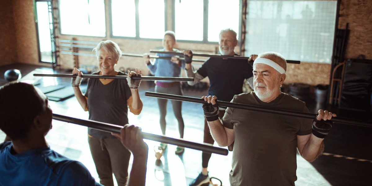 Small group exercise class